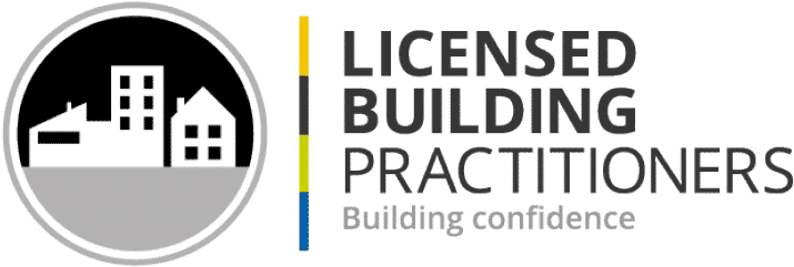 The licensed building practitioner logo.