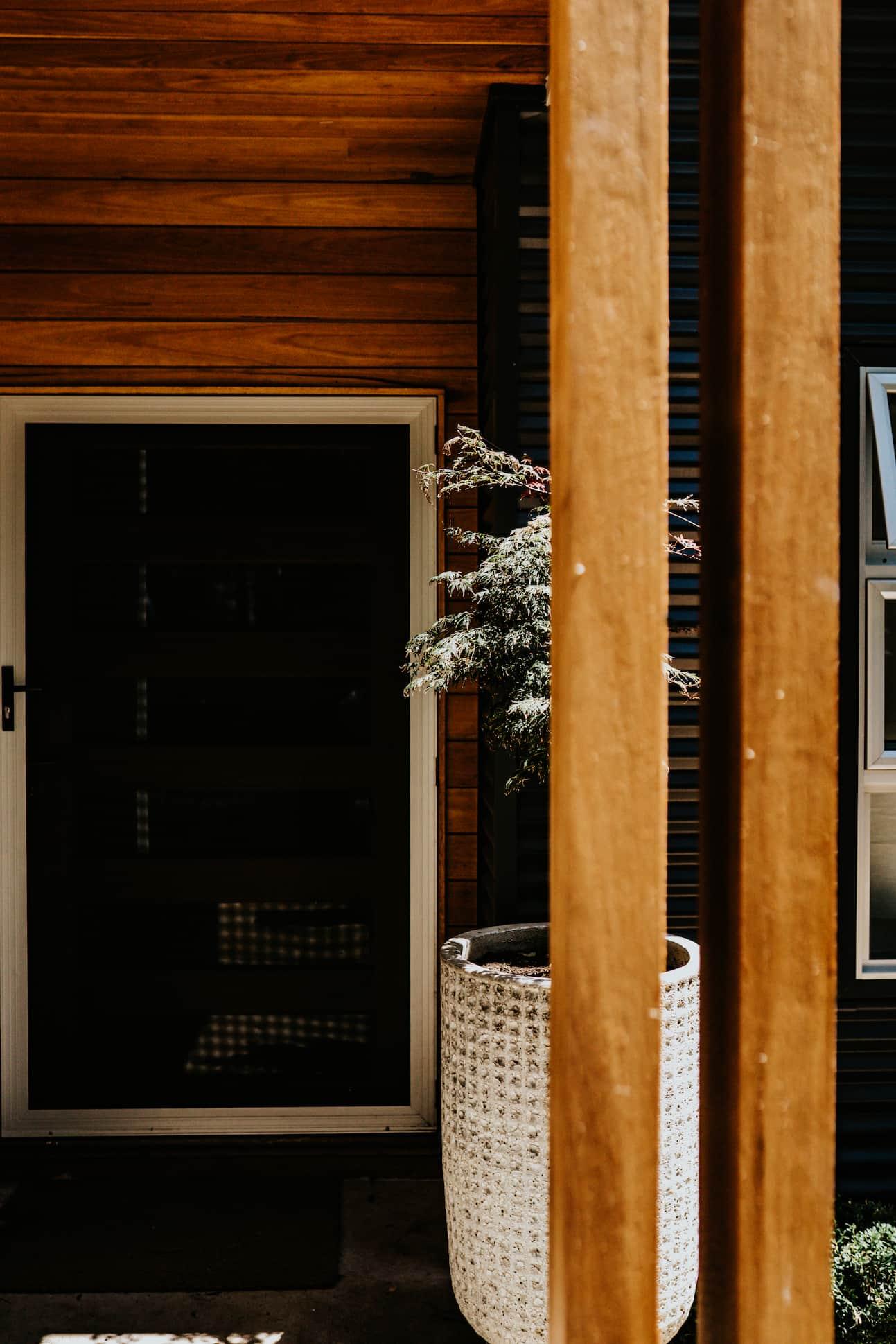 Locspec Building Oak Flats Renovation - front door