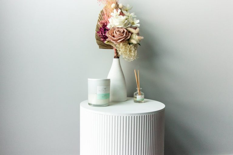 The Kmart Ottoman Hack: DIY Luxury Bedside Table Project